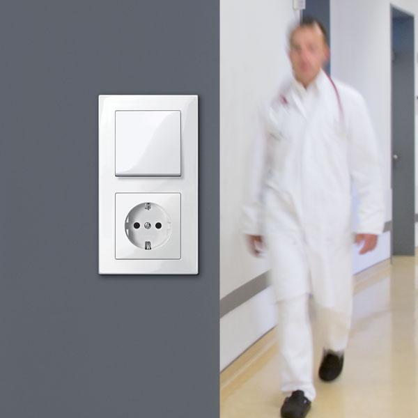 Vypínače, ktoré sa čistia sami