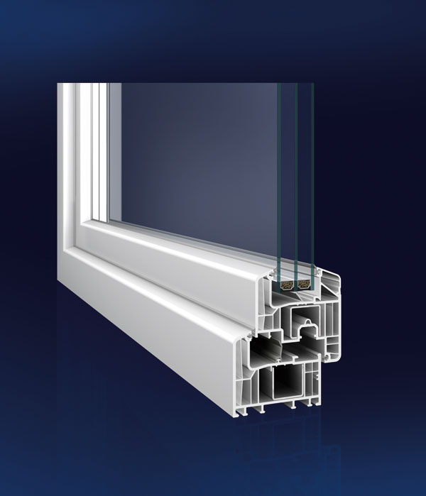 Nový okenný profil pre vysoké úspory