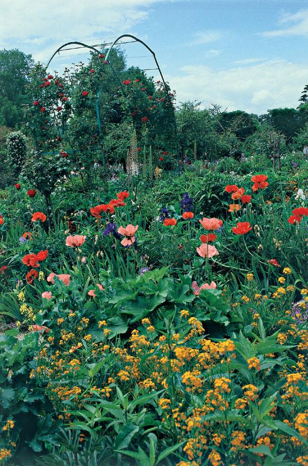 Giverny: Záhrada Clauda Moneta
