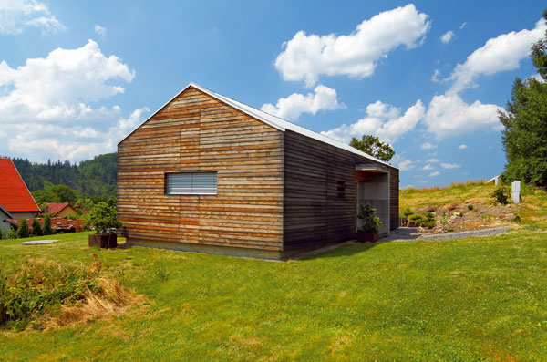 Dom v chránenej krajinnej oblasti