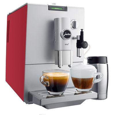 Kávovar Jura ENA 7 patrí knajužším (23,8 cm) plne automatickým strojom.