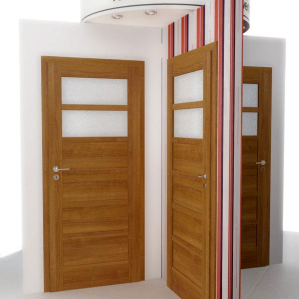 Dvere s príjemným dizajnom aj slušnou cenou