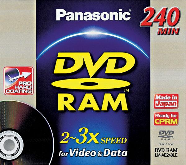 Bezpečnosť dát na DVD-RAM