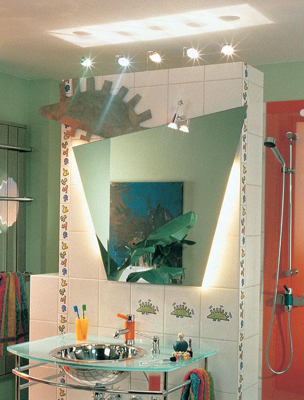 Buď svetlo, alebo umelé osvetlenie v interiéri