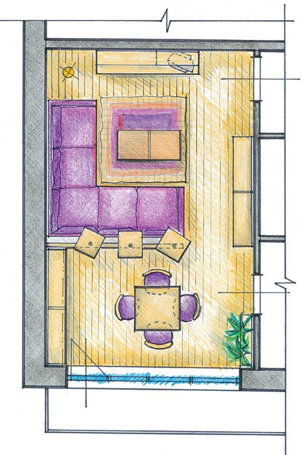 Keď obývacia izba spája... (2)