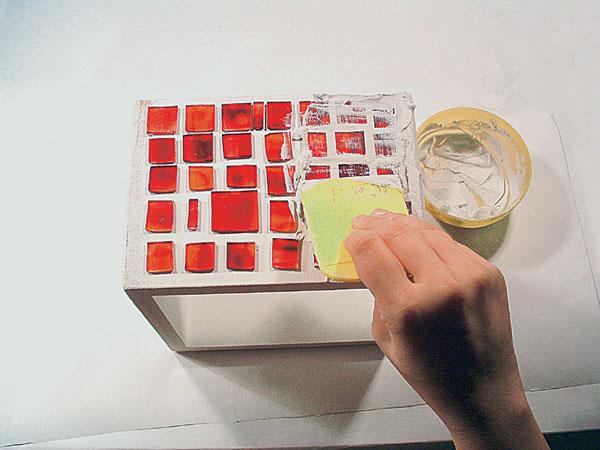 Mozaiková škatuľka