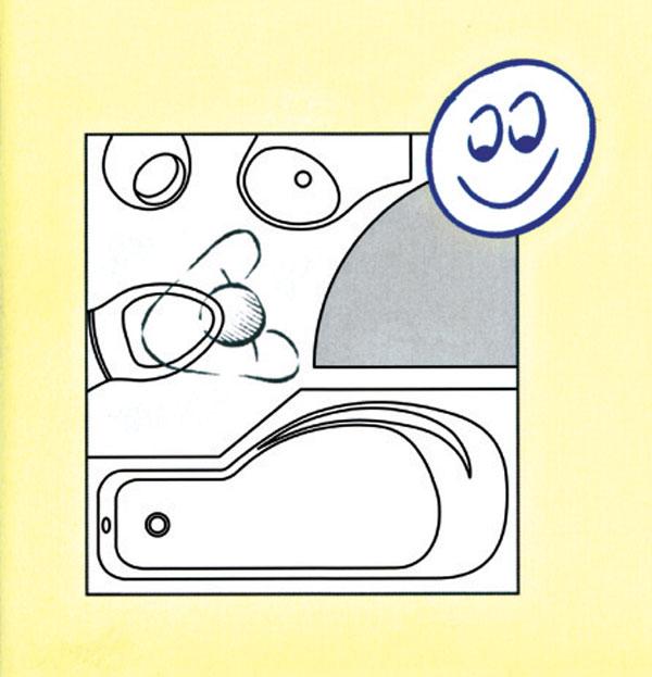 Inšpirácie pre malé kúpeľne