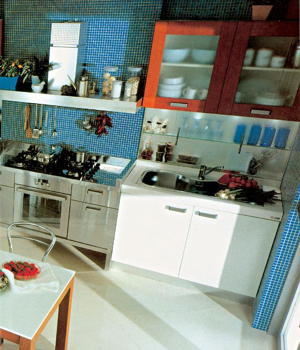 Kuchyňa - čo je v pozadí?
