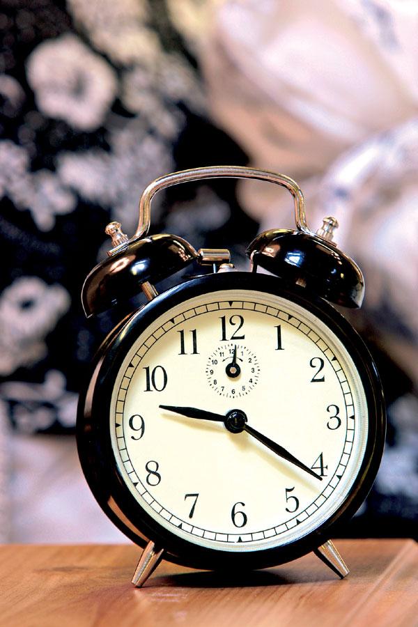 Kde si večer líhate a ráno vstávate