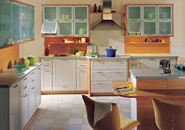 Klasický dizajn v kuchyni