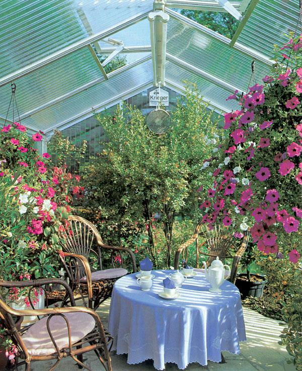 Najlepším relaxom je vlastná zimná záhrada