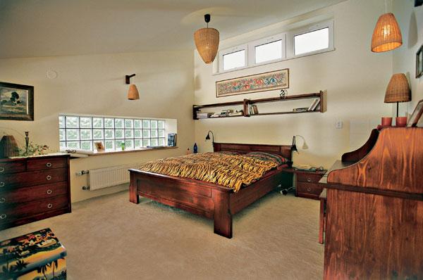 Spálňa - odpočinok, bývanie, uloženie vecí