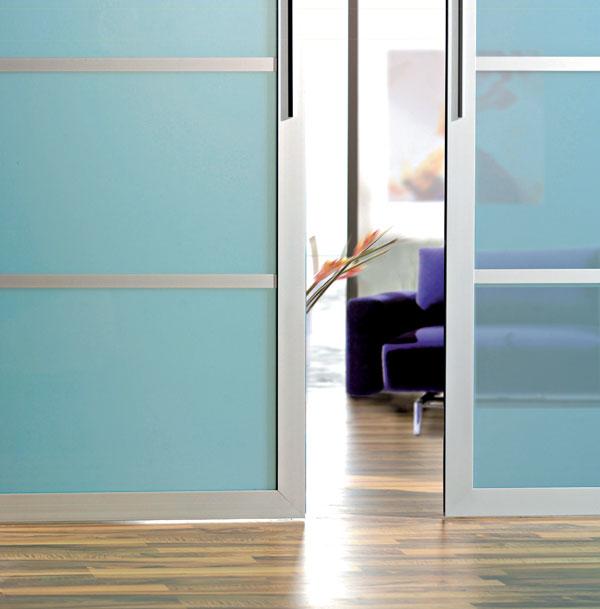 Posuvné steny alebo priečky v pohybe