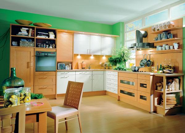 Niekoľko obvyklých riešení kuchyne alebo príklady z teórie