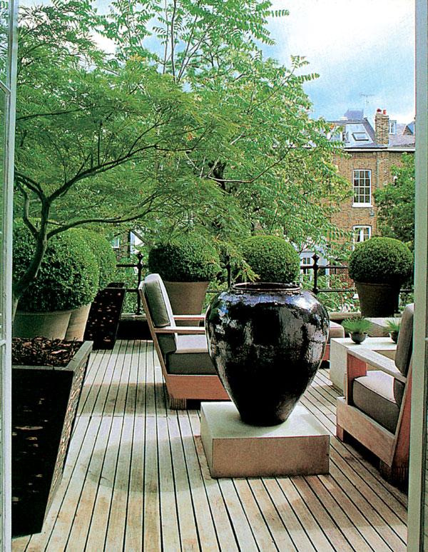 Záhrada na poschodí alebo zeleň vo výškach