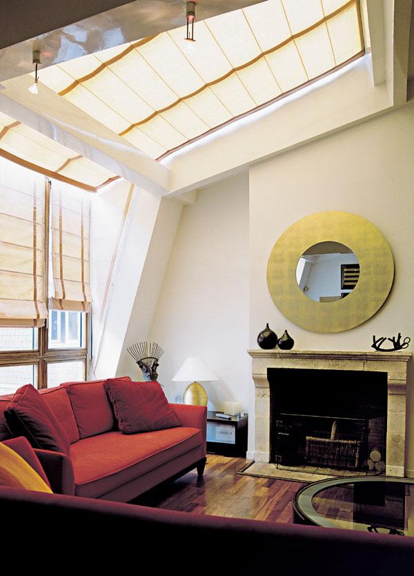 Obývacia izba v podkroví