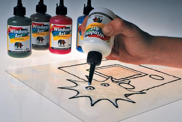 Na obklade maľované