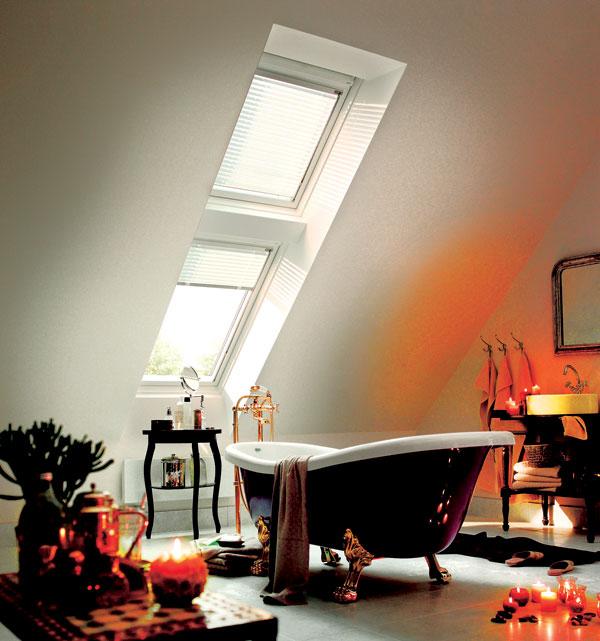 Strešné okná a vlhkosť