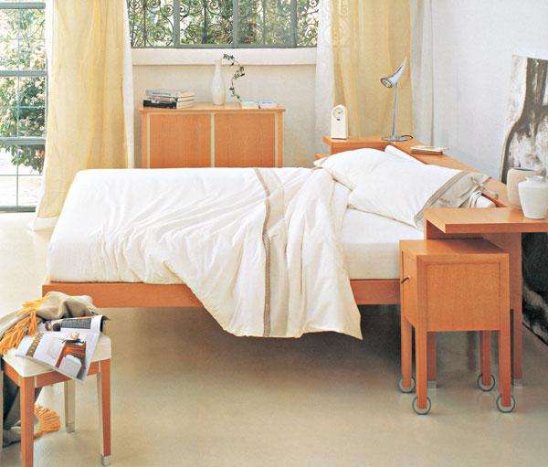 Spálňa – priestor na spanie i odpočinok