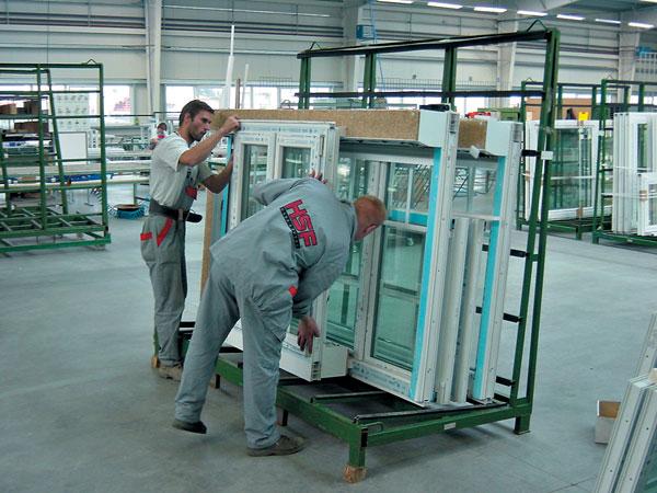 Výroba plastového okna