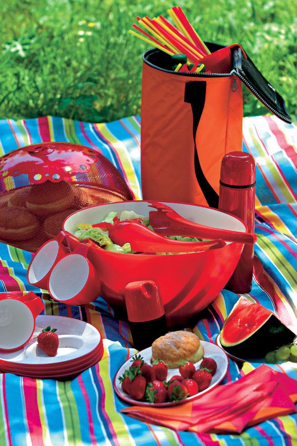 Piknik v tráve