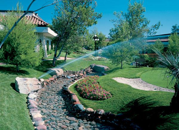 Závlahové systémy záhrad