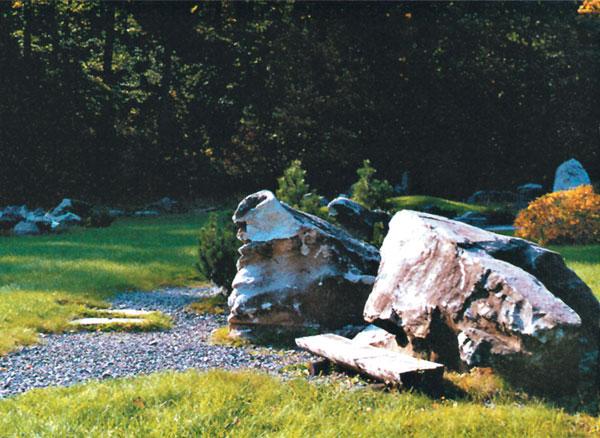 """Štrk a kamene v záhrade - záhradka """"ľavou zadnou"""""""