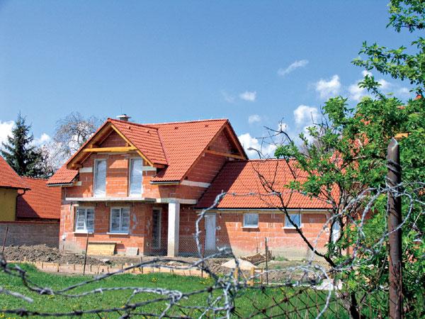 Akumulácia tepla v murive a strešnej konštrukcii