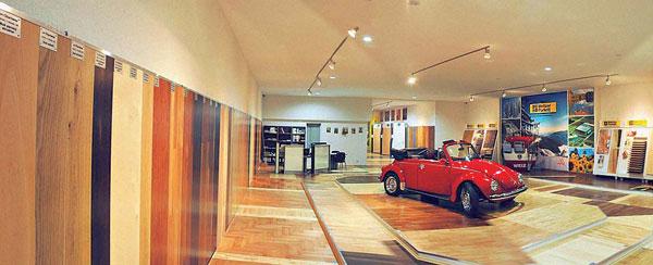 Nový showroom drevených parkiet