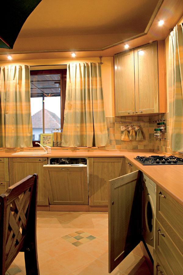 Veľký detail: alebo: kuchyňa pod slnečníkom