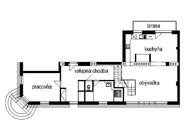 Bývanie výtvarníka v otvorenom priestore veľkorysého podkrovia