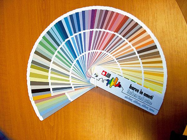 Miešanie farieb – alfa a omega kvalitného dizajnu