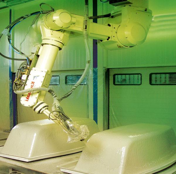 Nová technológia vystuženia akrylátových vaní