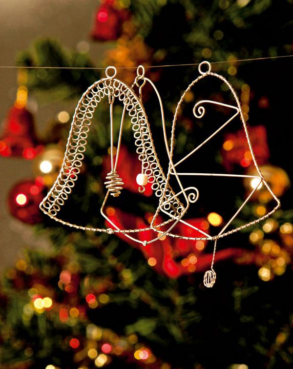 Drotárske umenie na vianočnom stromčeku