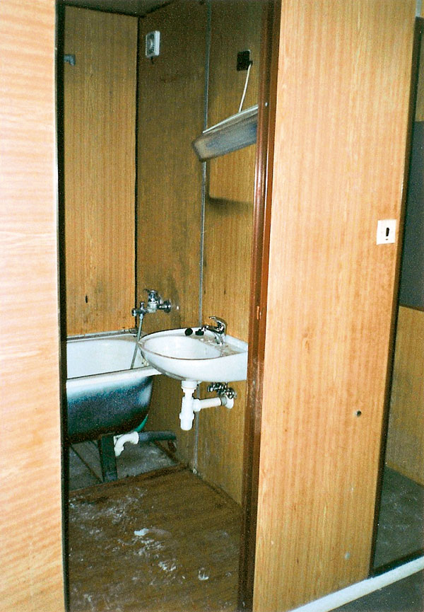 Účel svätí kúpeľňu?