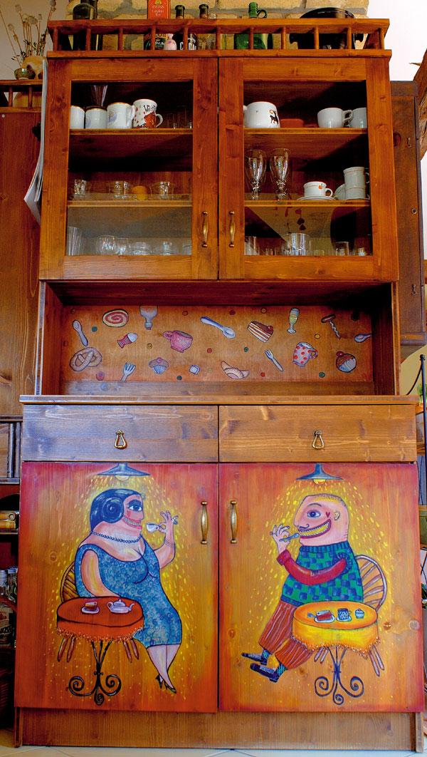 O skrini, ktorá sa vyfarbila