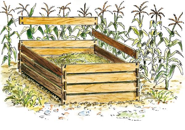 Kompost – čisto naturálna záležitosť