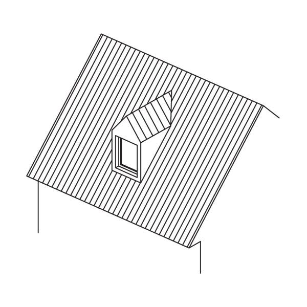 Vikiere – presvetľovacie striešky na strechách