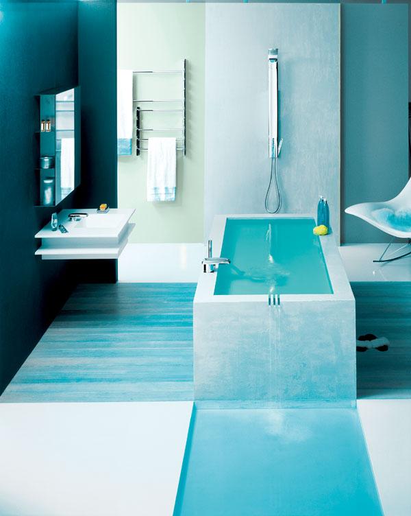 Multimediálna kúpeľňa s francúzskym šarmom