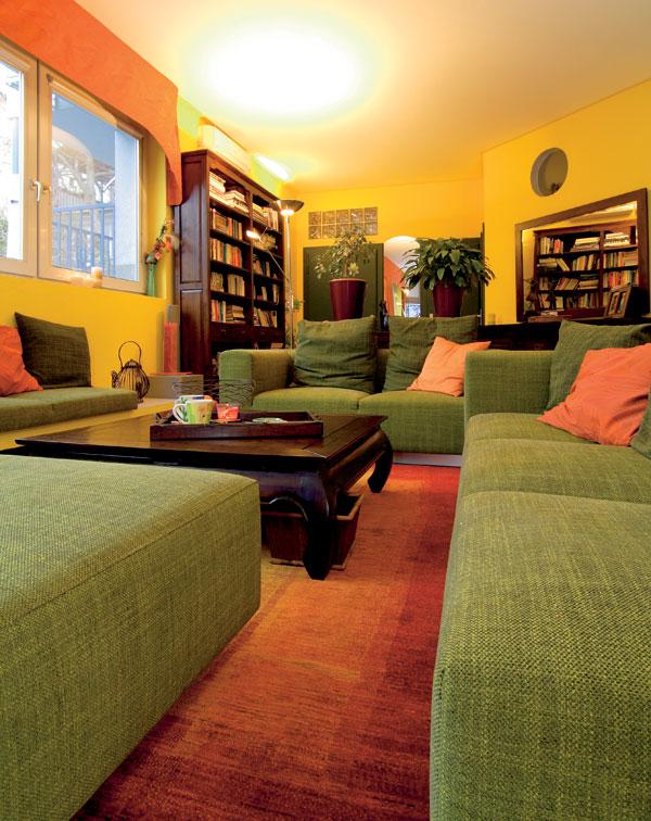 O preonačení bezfarebnej obývačky