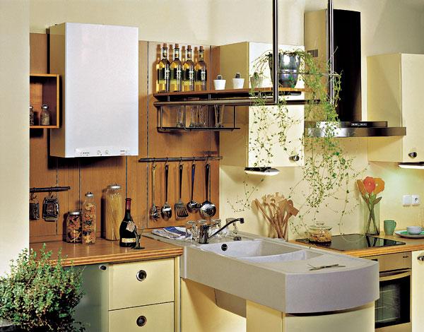 Teplá voda v kuchyni
