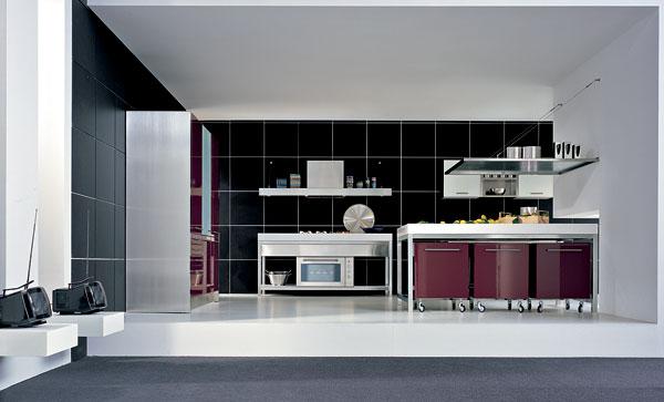 Povrchové úpravy stien v kuchyni