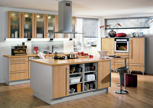Kuchyňa v rámci dispozície, dispozícia v rámci kuchyne