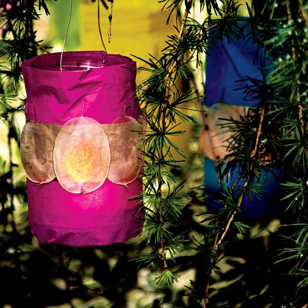 Farebný lampášik