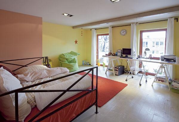 Domov na dvoch poschodiach