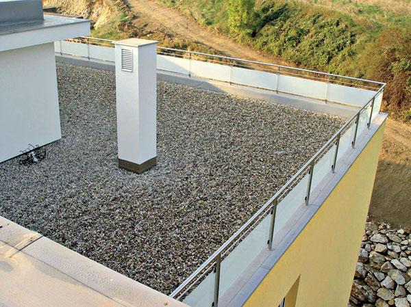 Pochôdzne a pojazdné ploché strechy