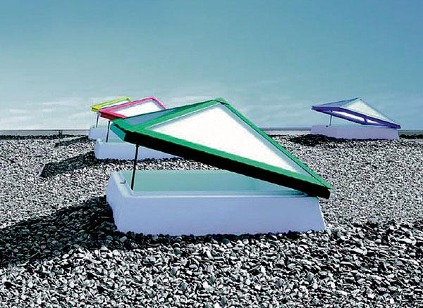 Presvetlenie plochej strechy