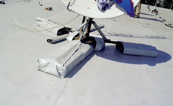 Hydroizolačná fólia na rekonštrukciu plochej strechy