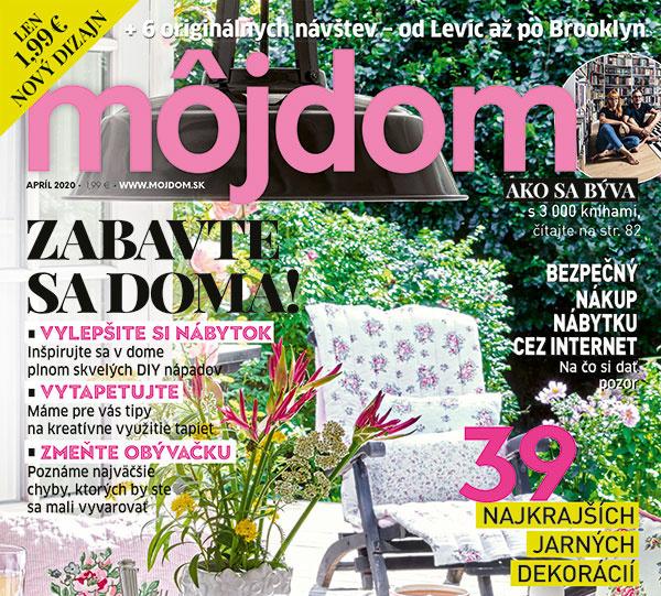 Čo sme pre vás ukryli do nového vydania časopisu Môj dom?