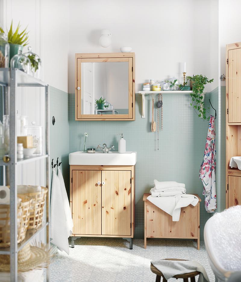 Kúpeľňa vo vidieckom štýle